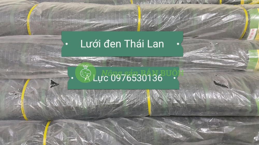 Bán lưới đen lưới Thái Lan lưới cắt nắng giá tốt