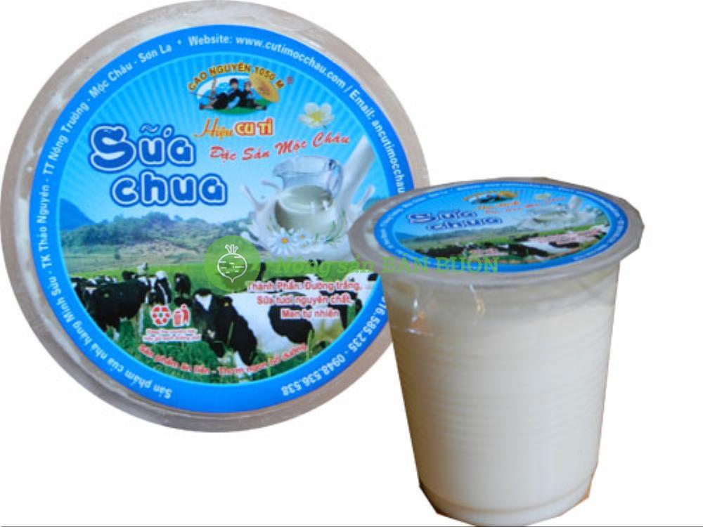 Sữa chua Mộc Châu hiệu Cu Tỉ