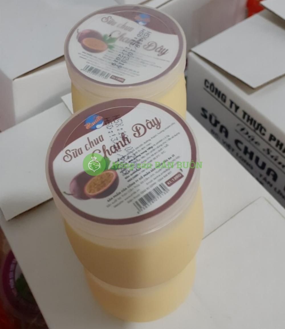 Sữa chua Chanh Dây - Công ty CP Sản Phẩm Sữa Ba Vì ZMilk