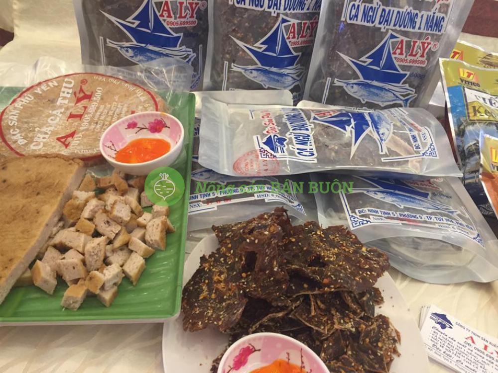 Bò 1 nắng, bò xé sợi đặc sản Phú Yên