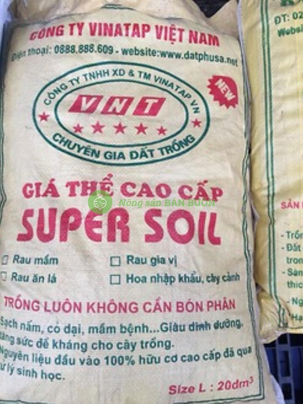 giá thể cao cấp SUPER SOLL