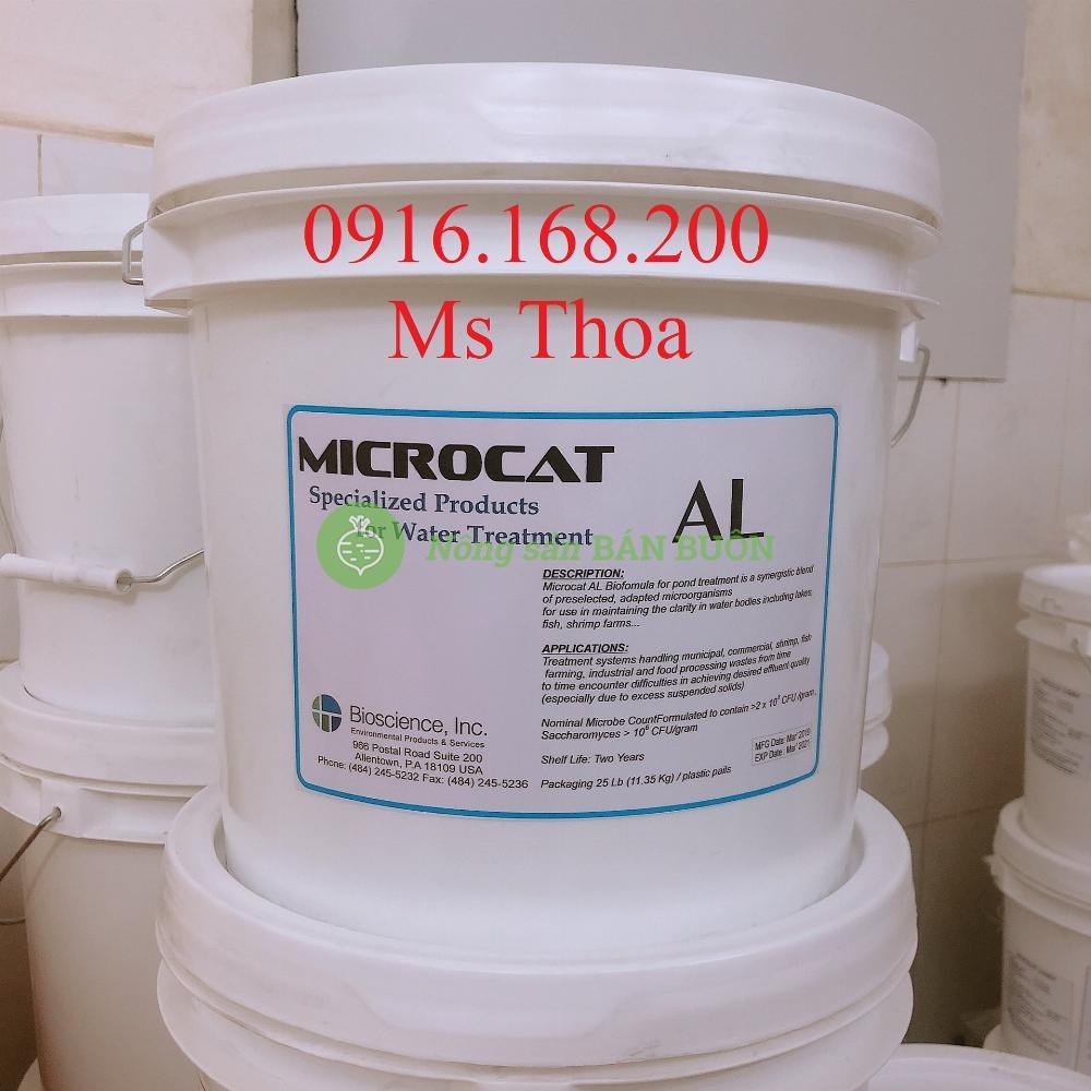 MICROCAT AL - Vi sinh bột xử lý đáy ao nuôi tôm cá
