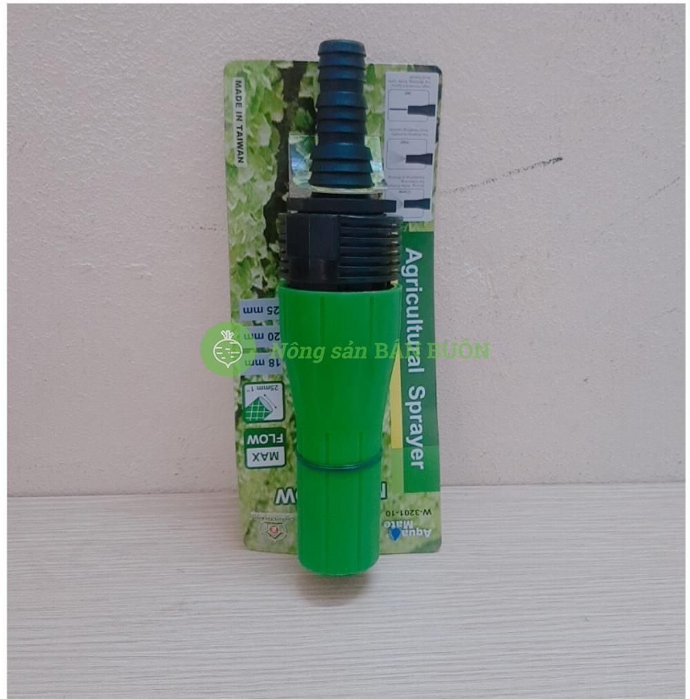 Đầu Phun Tưới W-3201-10 - Vòi phun tưới nước Nông Nghiệp Chỉnh Vặn Xoắn Lưu Lượng Lớn, Chất Liệu Nhựa PP - W-3201-10 Made in TAIWAN!