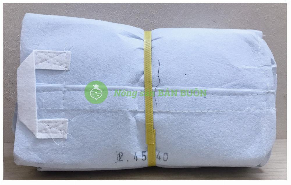 50 Túi Vải Việt Nam 45x40 Cm - Túi vải trồng cây 45x40cm