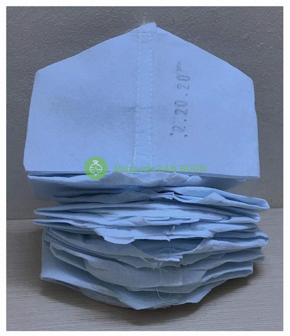 10 Túi Vải Việt Nam 20x20 Cm - Túi vải trồng cây 20x20cm